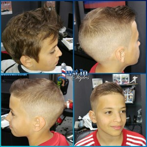 Faded Kids Cut