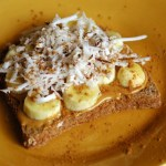 Gourmet Banana Nut Butter Toast