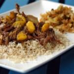 Spicy Mango-Ginger Beef Roast
