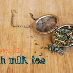 Pregnancy Notes: Mama's Rich Milk Tea {recipe}