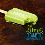Delicious Lime Creamsicles (honey-sweetened & dairy-free)