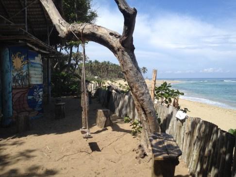 Schaukel am Playa Encuentro