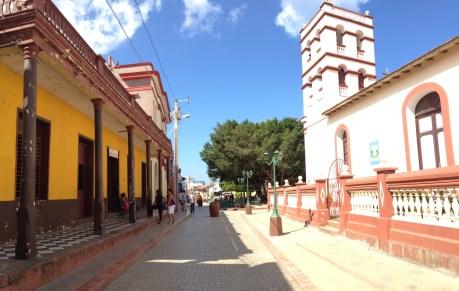 Stadtzentrum Baracoa