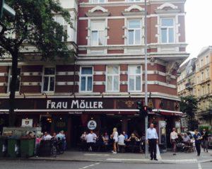 Außenbereich Frau Möller