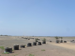 Wüstenlandschaft Sal Kapverden