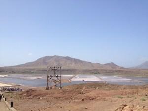 Salzsee Sal Kapverden