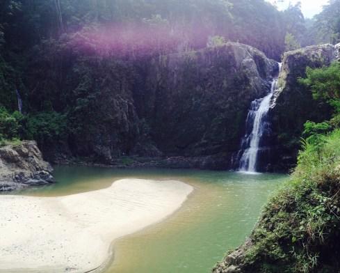 Jimena Wasserfall Dominikanische Republik