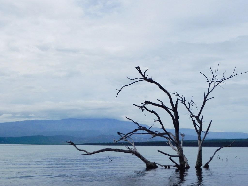 Lago Enriquillo Dominikanische Republik