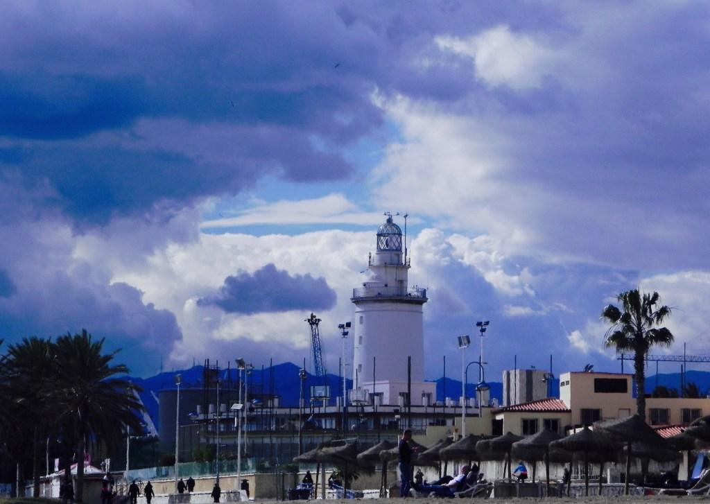 Leuchtturm Malaga La Farola
