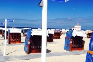 Warnmünde Ostsee Urlaubstipps Strandkorb