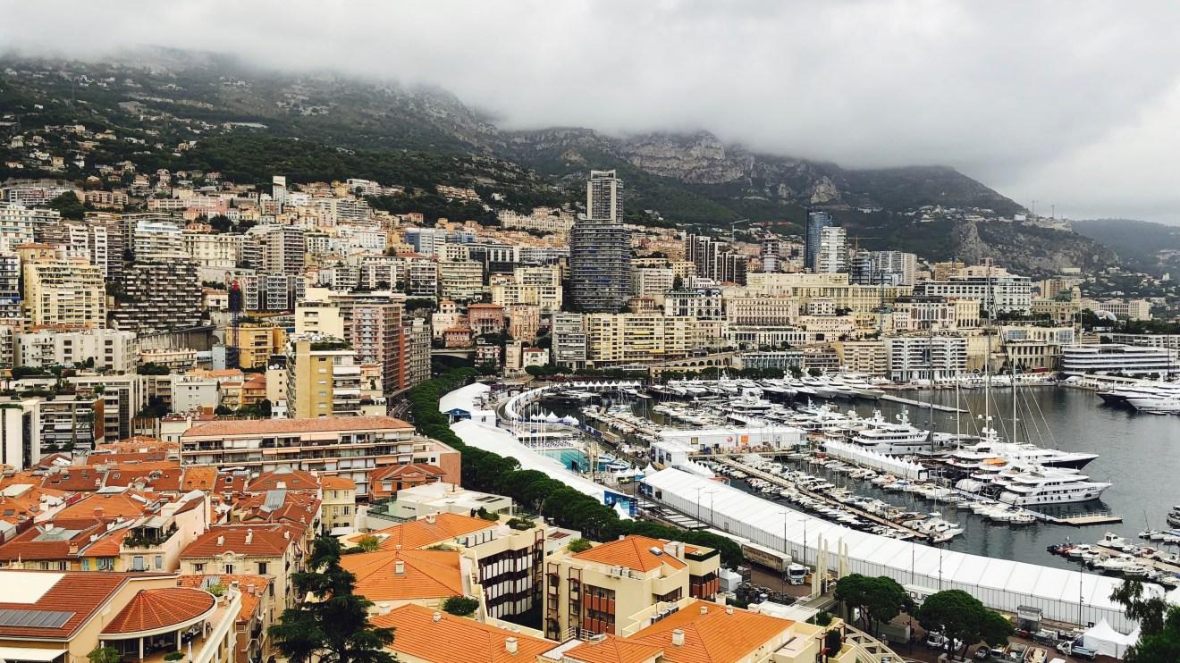 Monaco Hafen und Skyline