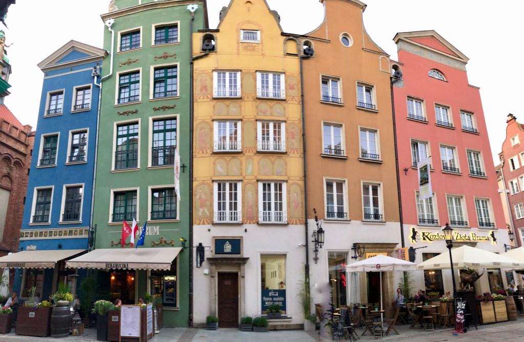 Danzig Altstadt Gebäude