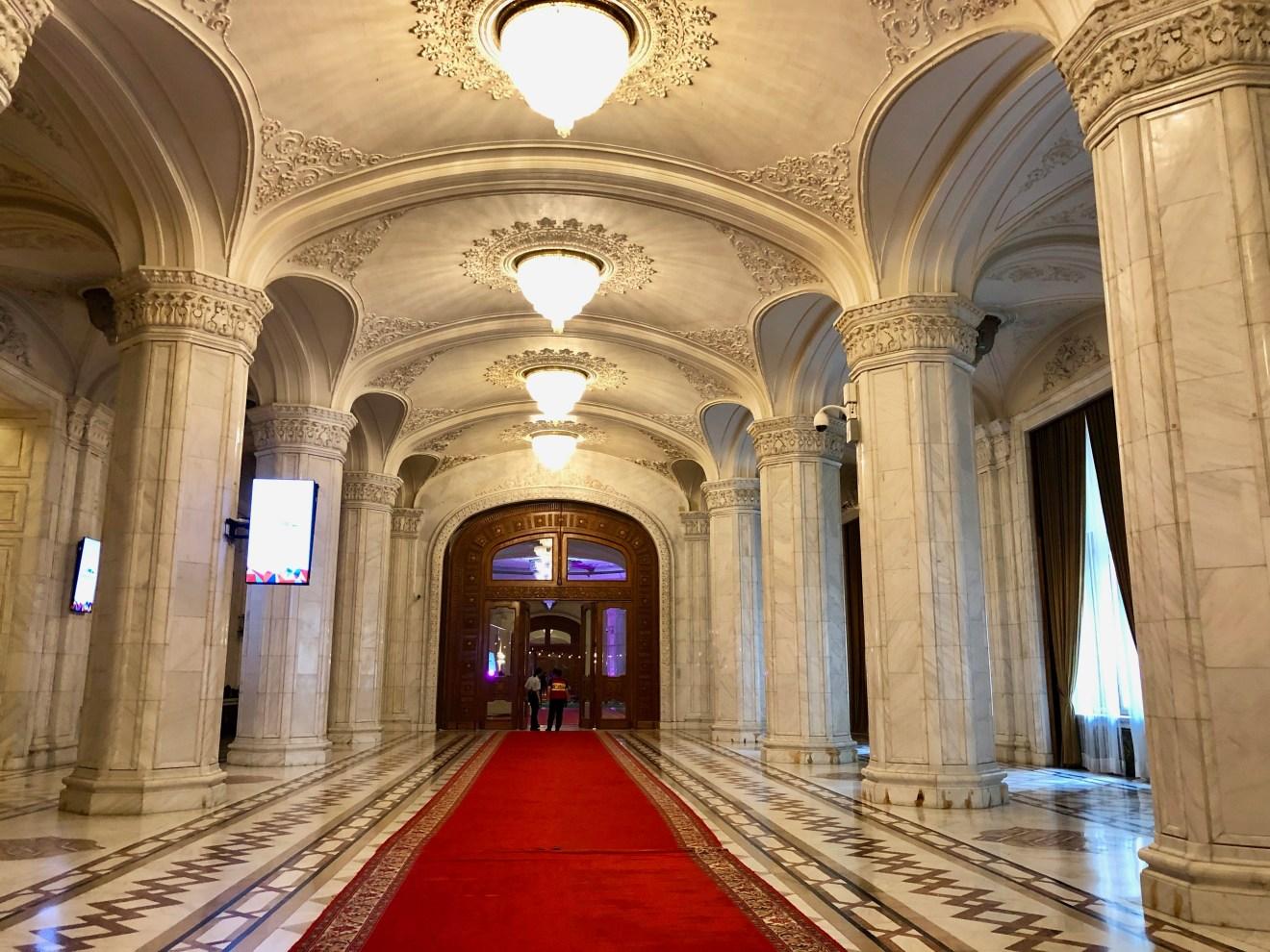 Parlamentspalast Bukarest Rumänien Tipp