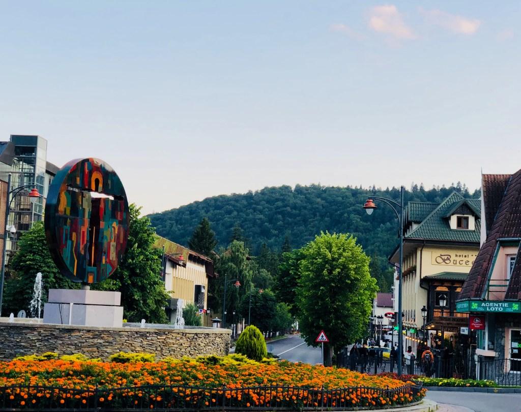 Zentrum Sinaia Rumänien
