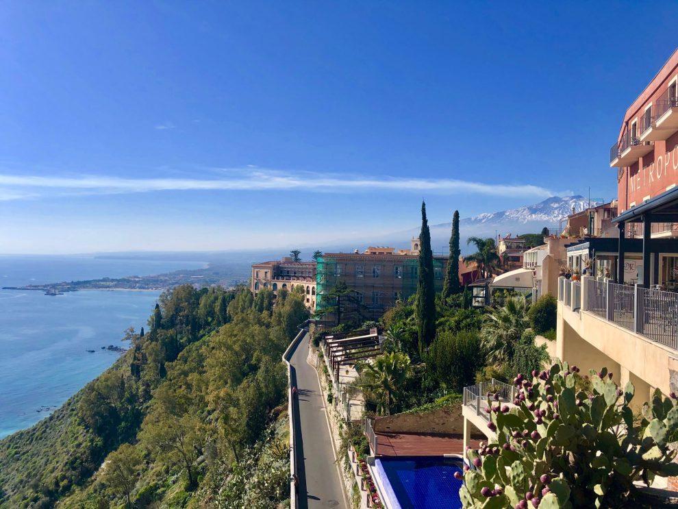 Scenic Route in Taormina