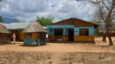 Straßenrand Tansania