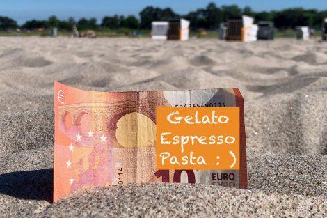 Urlaub Geld Italien