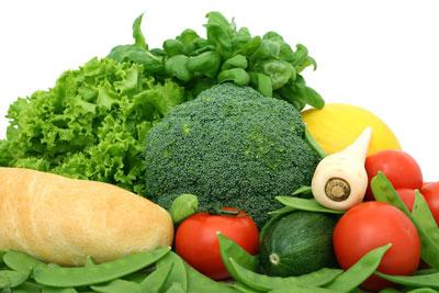 Schnell am Bauch abnehmen kannst du mit viel Gemüse