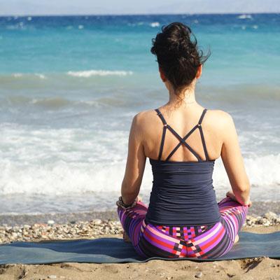 Yoga zum Entspannen und Stress abbauen