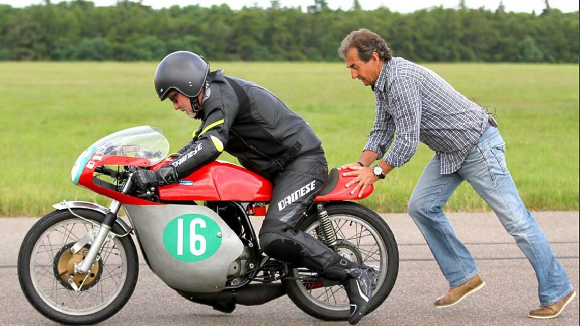 Barry Sheene Bultaco auctioned in UK