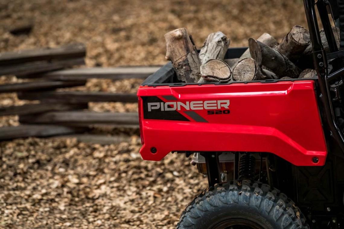 Honda previews Pioneer 520