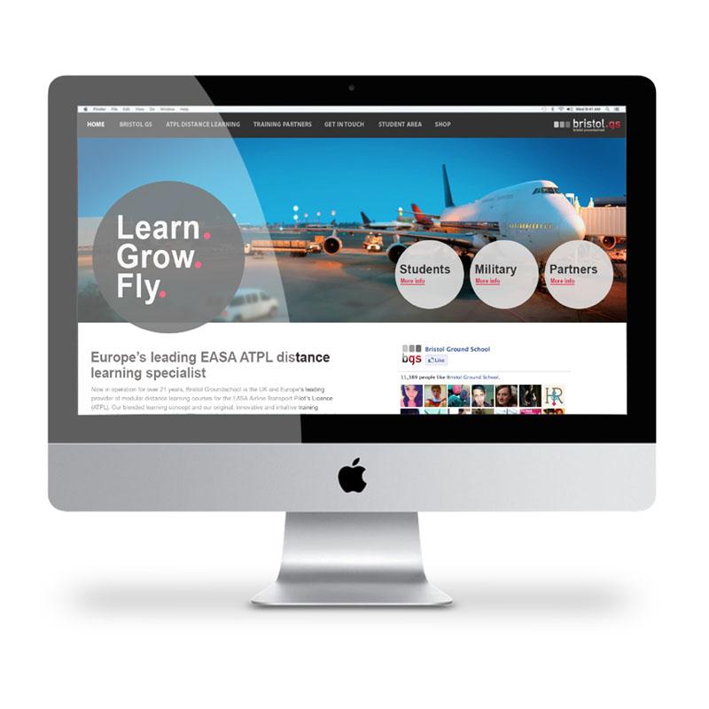 Bristol GS website by Just Us
