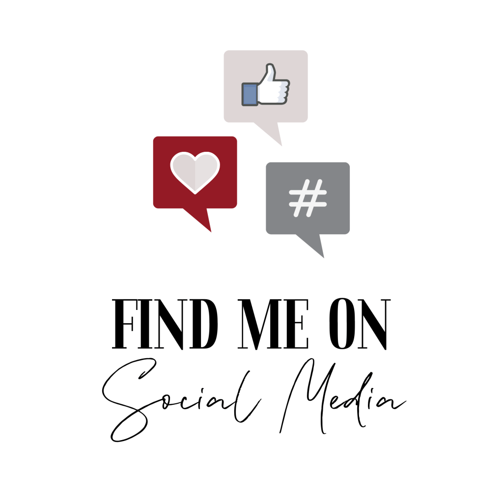 Button - Find Me On Social Media