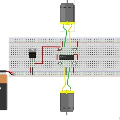 L293d Motor Driver Circuit Diagram Nuclear Fission Learn And Make Your Own Cheap A Complete
