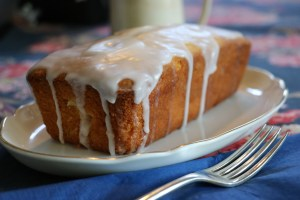Butter Cake with Lemon Drizzle Icing