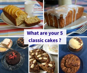 five classic cake photos