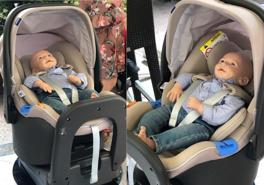 Chicco BebèCare: il nuovo sistema di sensori integrati al seggiolino auto
