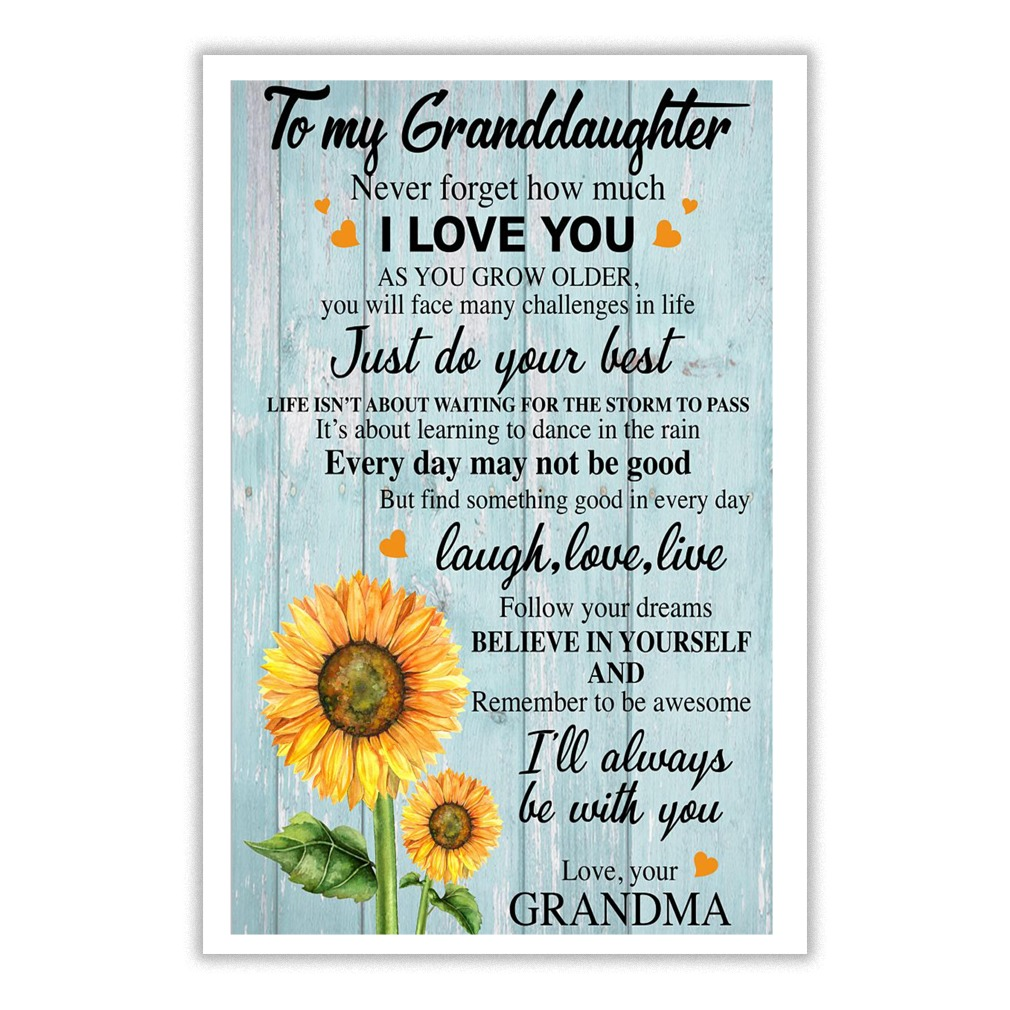 grandma to my granddaughter