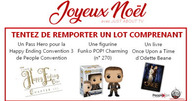 [JOYEUX NOËL] Tentez de remporter un lot Once Upon A Time : Pass de convention, Funko POP et livre !