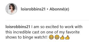 Lois Robbins rejoint le casting de la saison 5 de Younger