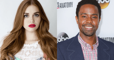 Holland Roden et Brandon Scott