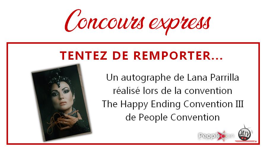 Once Upon A Time : un autographe de Lana Parrilla à gagner !