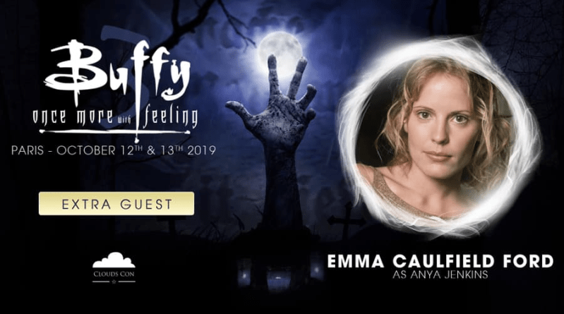 Emma Caulfield Ford invitée par CloudsCon à la convention Buffy !