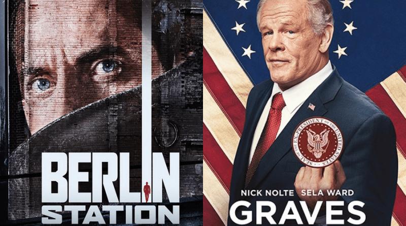 EPIX programme la saison 2 de Berlin Station et Graves