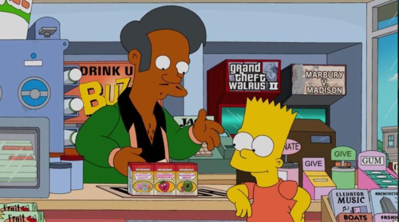 Les Simpson : le personnage d'Apu viré de la série