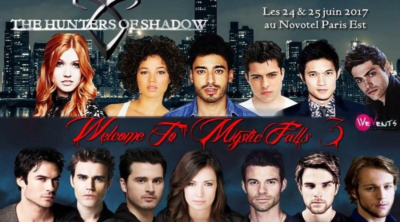 Récit d'un week-end avec les acteurs de The Vampire Diaries et Shadowhunters