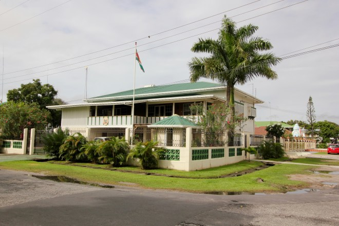 The Embassy of the Republic of Suriname
