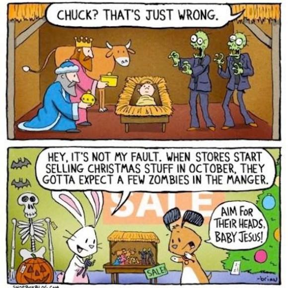 zombie xmas