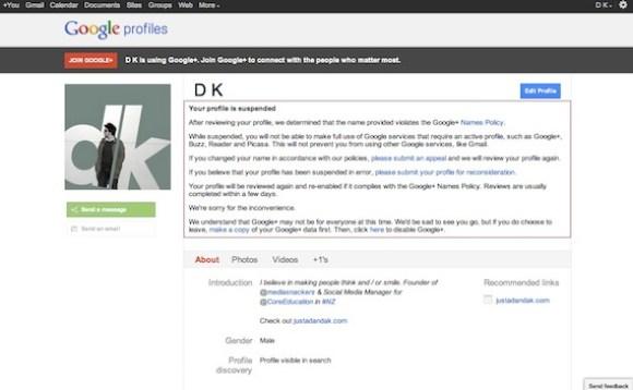 googleplus deleted account
