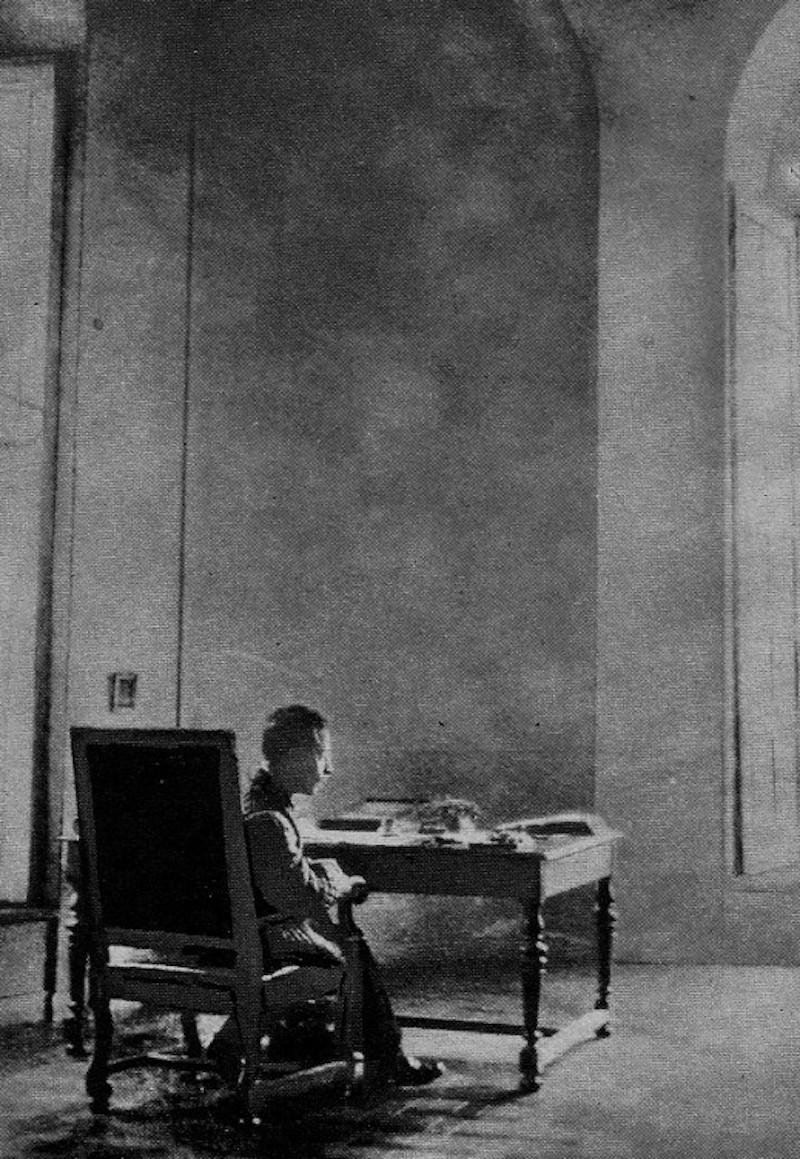Rilke in the Hotel Biron, Paris