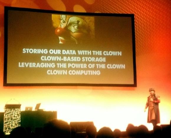 cloud vs clown