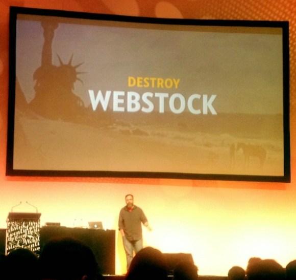 destory webstock