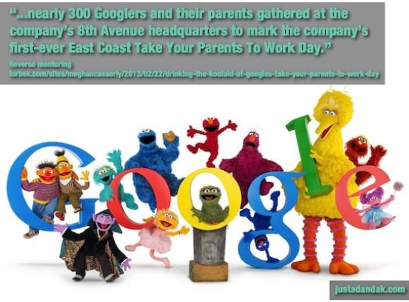 fascinating google parents days