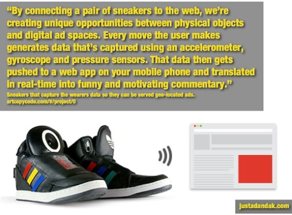 fascinating google sneakers ads