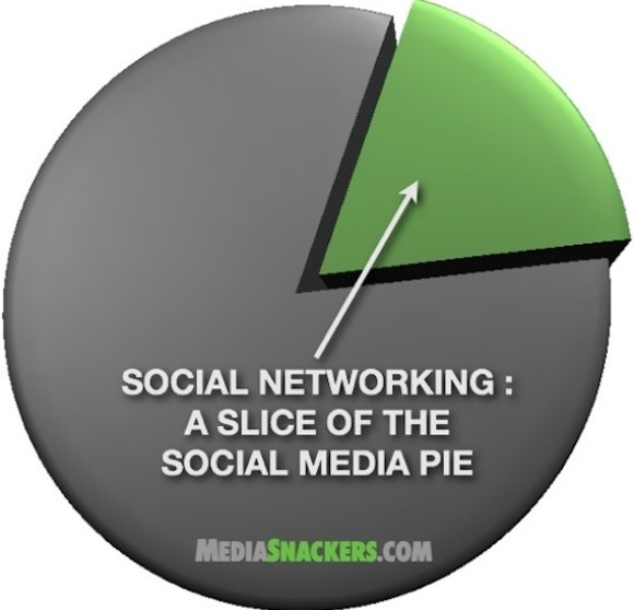 social networking pie