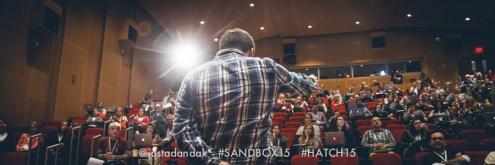 sandbox stage view